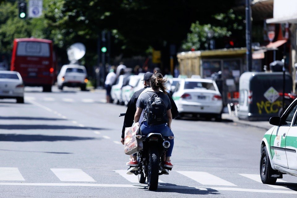 Seguridad Vial: la Universidad Nacional de La Plata desarroll� un sistema para detectar motociclistas sin casco. Foto: UNLP.