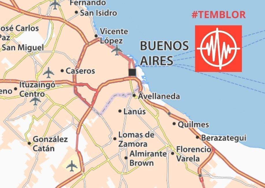 Temblor en Quilmes y alrededores por un sismo en la región